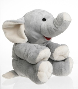 Warmteknuffel Cherry Belly Olifant