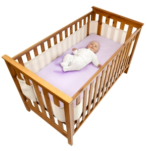 Safe Dreams Cot Wrap Ledikantbumper