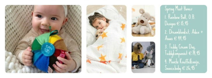 Spring Must Haves babyproducten