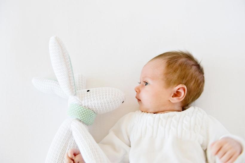 Ademende knuffel Hoppy Safe Dreams