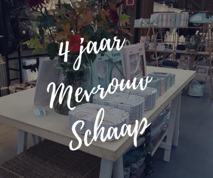 4 jaar Mevrouw Schaap